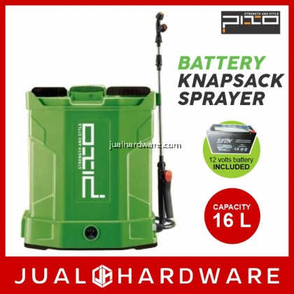 PIXO Battery Knapsack Sprayer 16 Liters