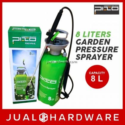 PIXO Garden Pressure Sprayer 8 Liters